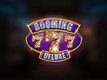 Виртуальный автомат Booming Seven Deluxe доступен онлайн