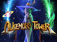 Виртуальный игровой автомат Alkemor's Tower о магии и колдовстве